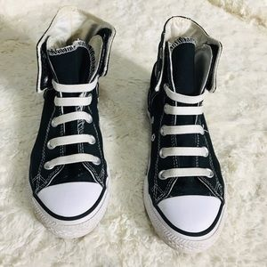 Converse All Stars Black & White High Top Youth 1